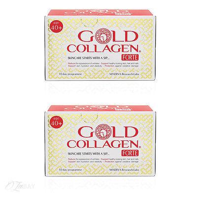 Комплект 2 Кутии GOLD COLLAGEN FORTE